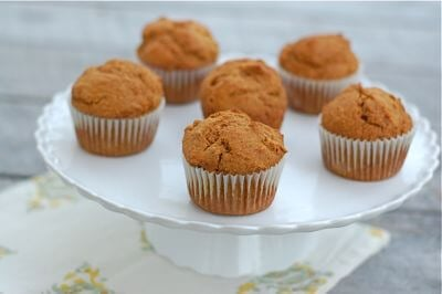 Pumpkin Spelt Muffins Recipe from 100 Days of Real Food