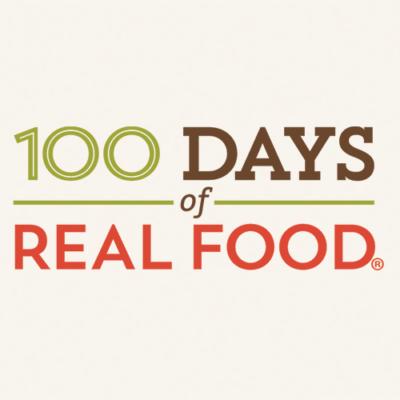 100 Days of Real Food Recipe Logo