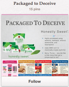 Packaged to Deceive Pinterest Board by Bruce Bradley