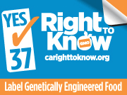 Right to Know Proposition 37