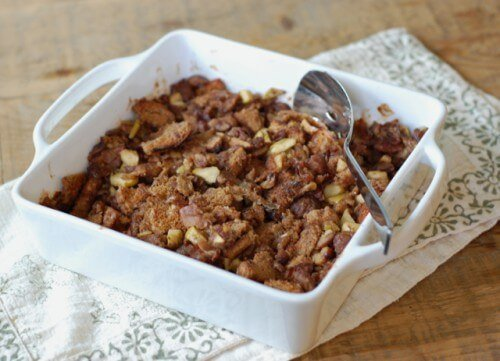 Recipe: Chestnut and Prosciutto Bread Stuffing from 100 Days of Real Food