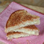 Grilled Brie and Apple Sandwich from 100 Days of Real Food