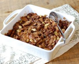 Recipe: Chestnut and Prosciutto Bread Stuffing - 100 Days of Real Food
