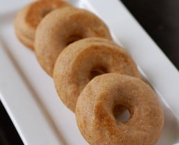 Whole-Grain Donuts (for the Mini Donut-Maker)