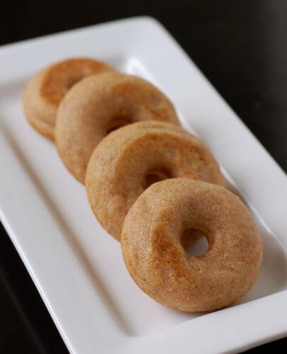 Baked whole-grain donut recipe from 100 Days of Real Food