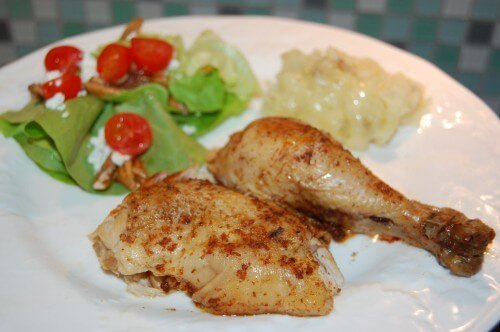 Recipe: The Best Whole Chicken in a Crock Pot from 100 Days of Real Food