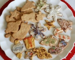 Whole-Wheat Christmas Cookies (with sugar!)