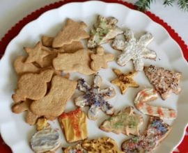 Whole-Wheat Christmas Cookies from 100 Days of Real Food