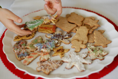 Christmas Cookies from 100 Days of Real Food