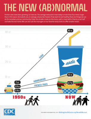 Portion Size Matters by 100 Days of Real Food