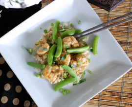 Green Curry Shrimp Recipe from 100 Days of Real Food