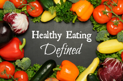 healthy eating defined