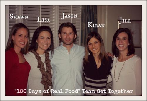 100 Days of Real Food team get together