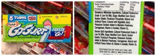 GoGurt - Misleading Food Products II on 100 Days of Real Food
