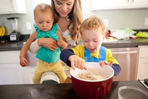Desi with kids