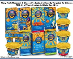 Our Response to Kraft's Letter: It's Time to Surrender Your Artificial Dyes