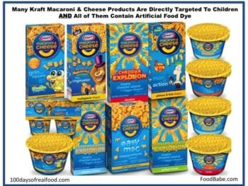 Kraft Kids 350x263 - Our Response to Kraft's Letter: It's Time to Surrender Your Artificial Dyes