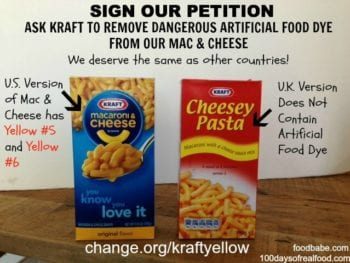 Kraft Petition Update