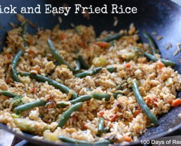 Recipe: Super Quick and Easy Fried Rice