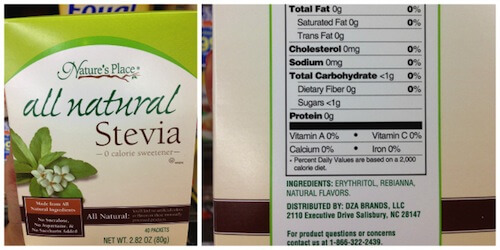 All Natural Stevia
