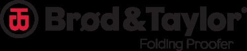 Brod and Taylor folding proofer logo