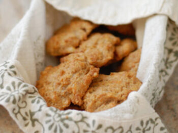 Cheddar biscuits on 100 Days of Real Food