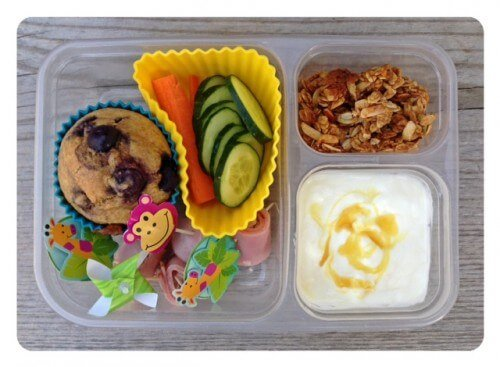 How the lunch looked like right after I packed it.