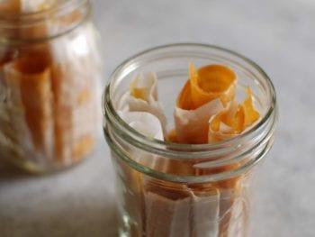 Guest Recipe: Homemade Fruit Roll-Ups