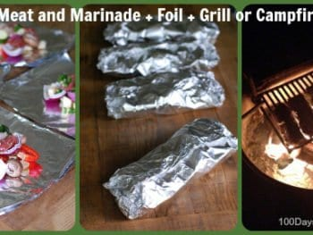 Grilled Meat and Veggie Foil Packets…Yum!