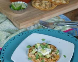 Tostada Spread from 100 Days of Real Food
