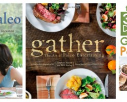 Giveaway: Paleo Cookbooks from The Food Lovers Primal Palate!