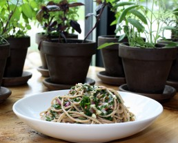 Chimi Pasta with Herbs