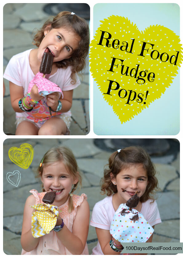 Real Food Fudge Pops