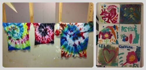 rainbow party crafts