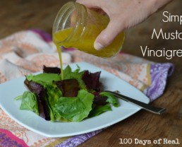 Simple Mustard Vinaigrette