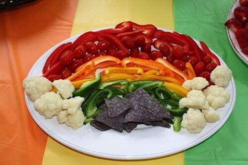 veggie platter 1