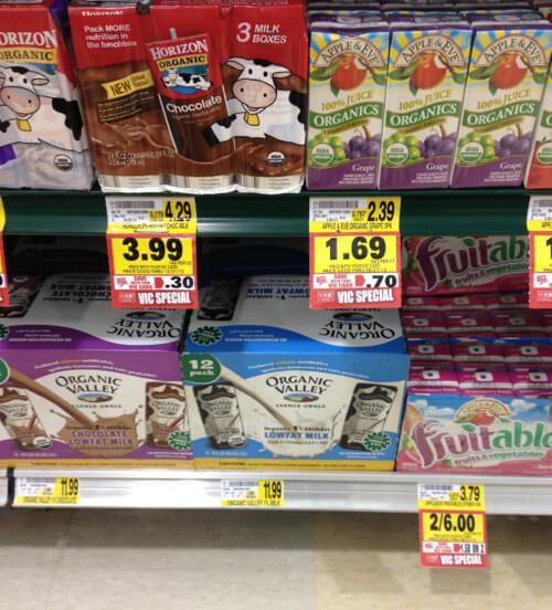 milk in US
