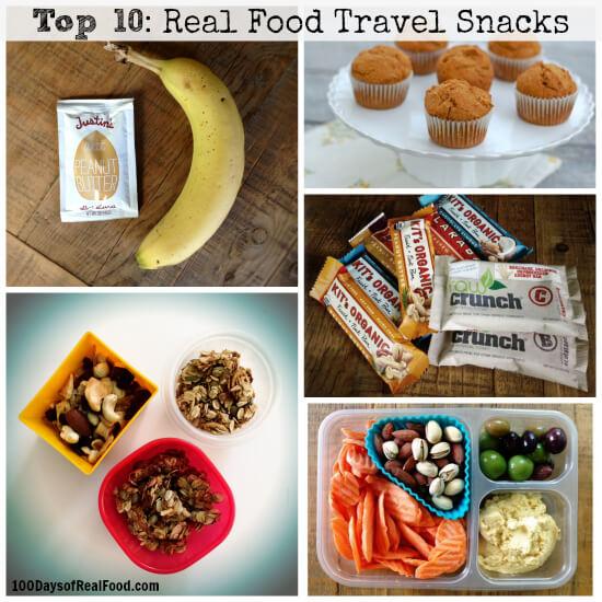Top 10 Real Food Travel Snacks