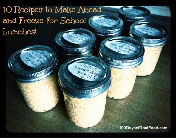 Real food tips 10 recipes to freeze for school lunches which makes real food tips 10 recipes to freeze for school lunches which makes packing a breeze 100 days of real food forumfinder Choice Image