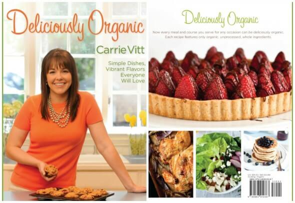 Deliciously Organic Cookbook Cover Collage