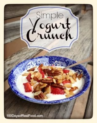 Simple Yogurt Crunch