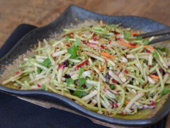 Asian slaw on 100 Days of Real Food