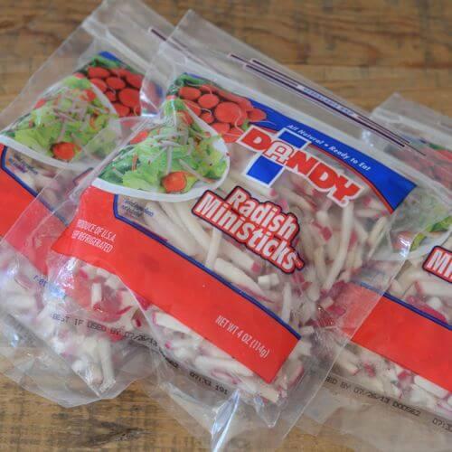 radish ministicks