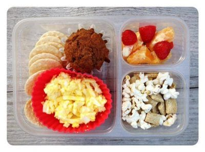 Nut-Free School Lunch Ideas 13 from 100 Days of Real Food #realfood #lunchbox