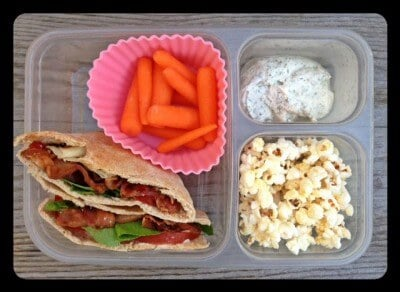 Nut-Free School Lunch Ideas from 100 Days of Real Food #realfood #lunchbox