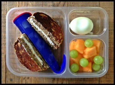 Nut-Free School Lunch Ideas 3 from 100 Days of Real Food #realfood #lunchbox
