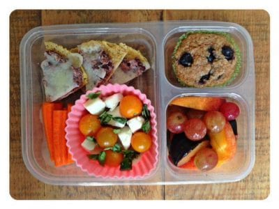 Nut-Free School Lunch Ideas 10 from 100 Days of Real Food #realfood #lunchbox