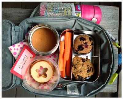 Nut-Free School Lunch Ideas 2 from 100 Days of Real Food #realfood #lunchbox