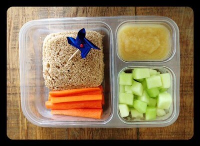 Nut-Free School Lunch Ideas 9 from 100 Days of Real Food #realfood #lunchbox