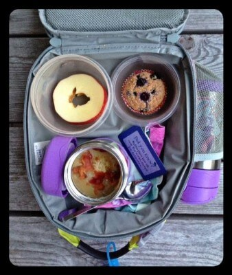 Nut-Free School Lunch Ideas 4 from 100 Days of Real Food #realfood #lunchbox